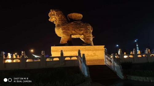 沧州鼓楼广场智能景观器材