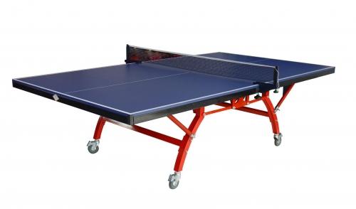 双侧折叠带轮乒乓球台